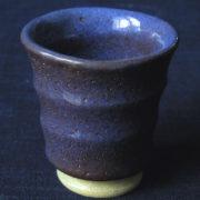 【ぐい呑み】紫青