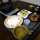 『かぶらのおでん風鍋』 【ぐい呑み】白釉  【酒器】 釉の酒器 料理とぐい呑み(18)