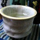 『鶏なんこつ団子の梅鍋』 【ぐい呑み】白乳濁 料理とぐい呑み(21)