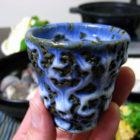 『真ゴチ鍋』 【ぐい呑み】青濁垂 料理とぐい呑み(27)