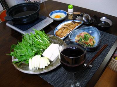 焼き穴子の柳川風鍋