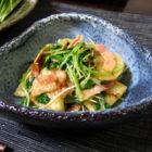 『焼き穴子の柳川風鍋』 【片口鉢】心の葉 料理で使う啓蔵作品 ご感想