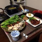 『「風邪かな?」っと思ったら湯豆腐  』 料理とぐい呑み(80)