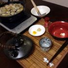 『牡蠣のあんかけ鍋焼きう m9( ・ω・)どぉぉぉん! 』 料理とぐい呑み(81)