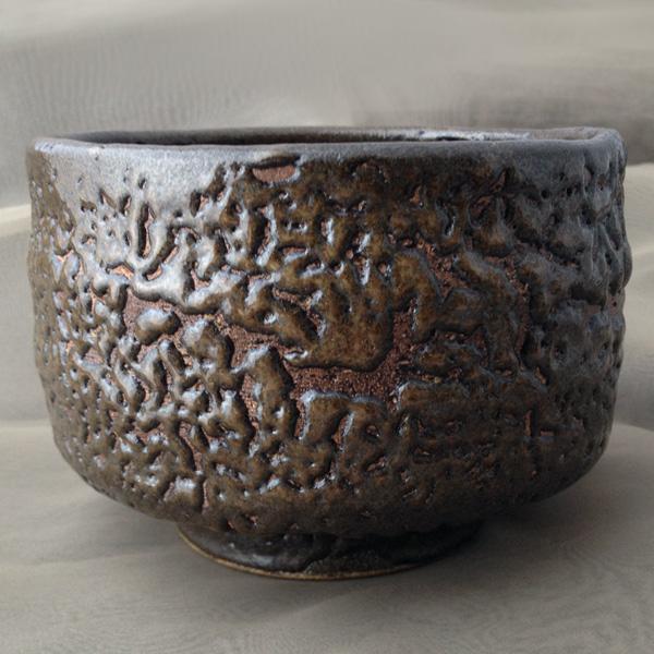 【抹茶茶碗】 赤壁土