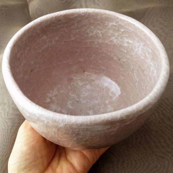 井戸茶碗 桜貫入